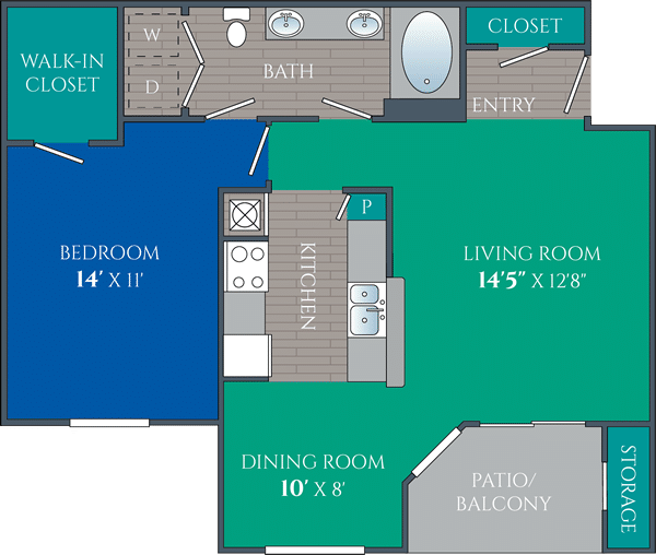 one bedroom apartments in knoxville