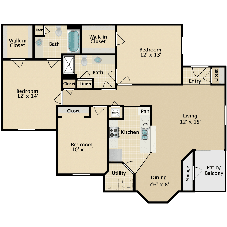 1 Bedroom Apartments Utilities Included Apartments Available Near Me House For Rent Near Me 4