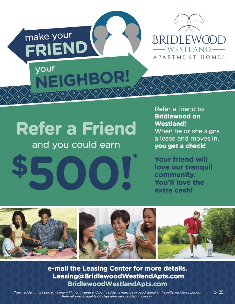 home resident referral bonus